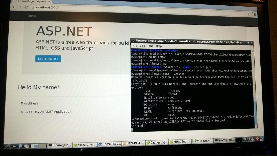 asp .net vnext